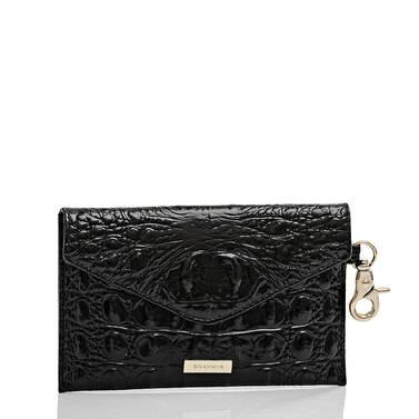 Mini Envelope Case Black Melbourne Side