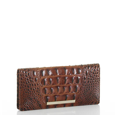 Ady Wallet Pecan Melbourne Side