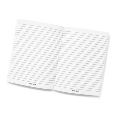 Ruled Notebook Side-Bound 6x8 White Stationery Front