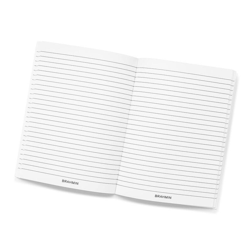 Ruled Notebook Side-Bound 6x8 White Stationery