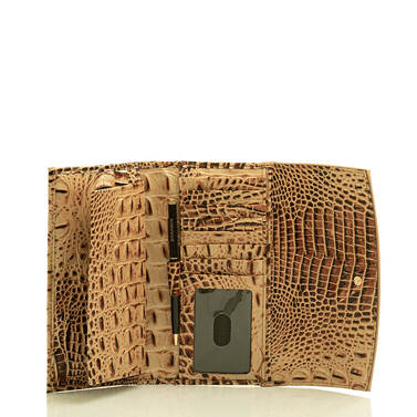 Modern Checkbook Wallet Toasted Kempsey Interior