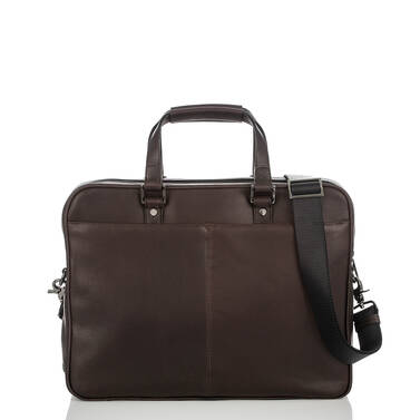 Andy Briefcase Brown Bedford Back