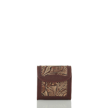 Index Wallet Tan Trellis Front