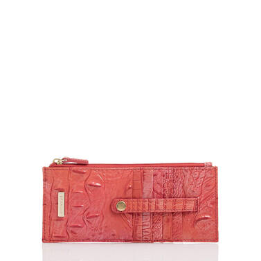 Credit Card Wallet Punchy Coral Melbourne Front