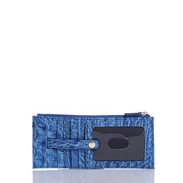 Credit Card Wallet Electric Blue Ombre Melbourne Side