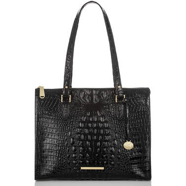 Anywhere Tote Black Melbourne Front