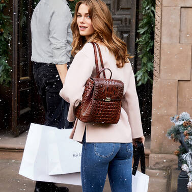 Margo Backpack Pecan Melbourne Lifestyle