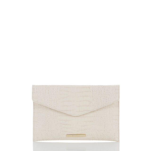 Envelope Clutch Ivory Majestic, Ivory, hi-res