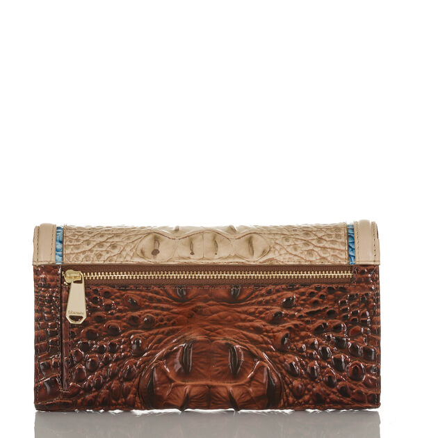 Soft Checkbook Wallet Sand Santana