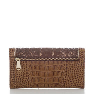 Soft Checkbook Wallet Patina Masolino Back