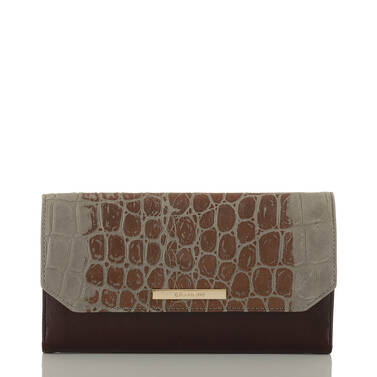 Soft Checkbook Wallet Hunter Bowery Front