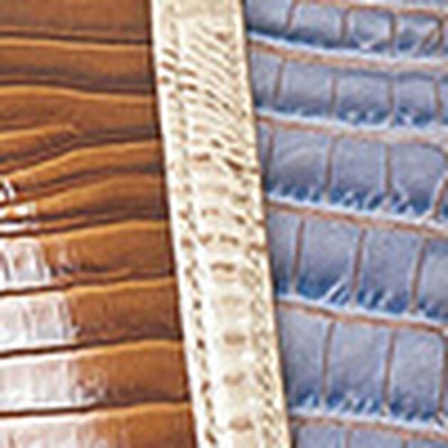 Large Duxbury Satchel Washed Indigo Ipanema