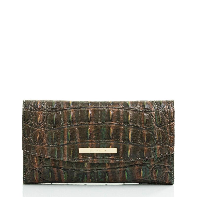 Modern Checkbook Wallet Moss Rowan