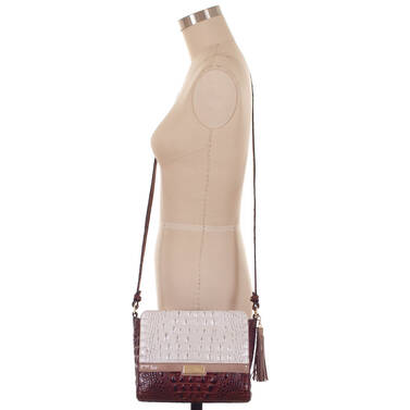 Carrie Crossbody Toasted Macaroon Durance On Mannequin