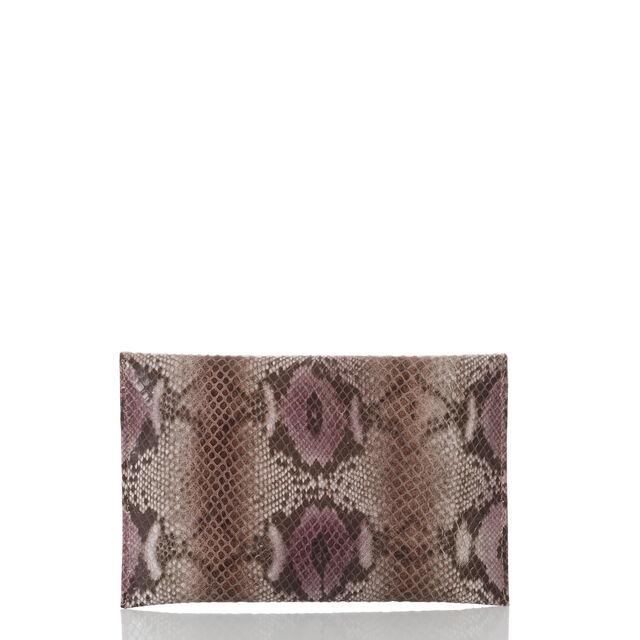 Envelope Clutch Violet Hibiscus, Violet, hi-res