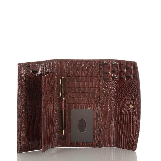 Modern Checkbook Wallet Crystal Dashwood
