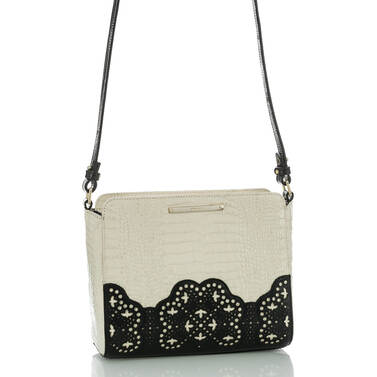 Carrie Crossbody Black Magnolia Side