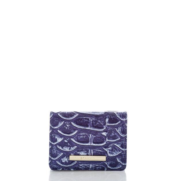 Mini Key Wallet Denim DelRay, Denim, hi-res