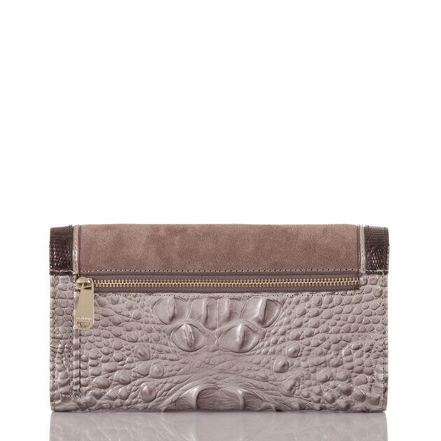 Soft Checkbook Wallet Chardonnay Clermont