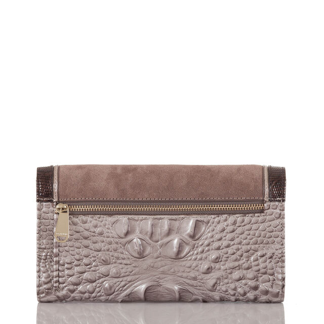Soft Checkbook Wallet Chardonnay Clermont, Chardonnay, hi-res