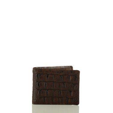 Billfold Cocoa Brown Vintage Melbourne Front