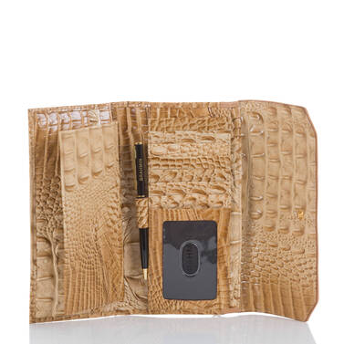 Soft Checkbook Wallet Ink Avondale Interior
