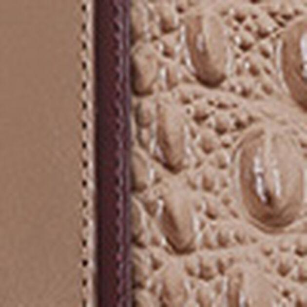 Soft Checkbook Wallet Travertine Cordina