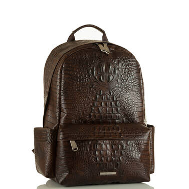 Marcus Backpack Cocoa Brown Vintage Melbourne Side