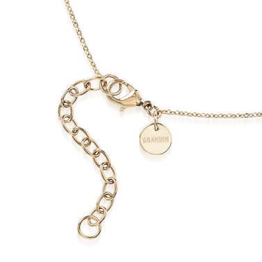 Crystal Charm Necklace Wonderland Fairhaven Side