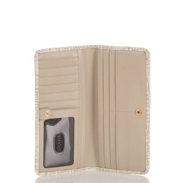 Ady Wallet Taupe Quincy Interior