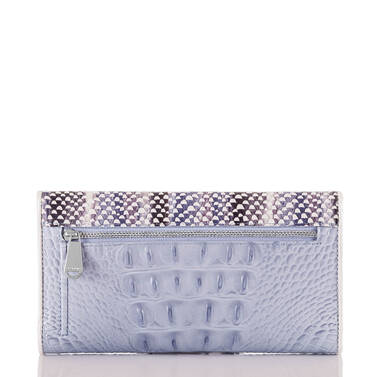 Soft Checkbook Wallet Periwinkle Monroe Back