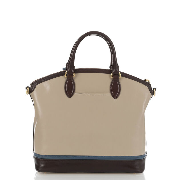 Large Duxbury Satchel Sand Westport