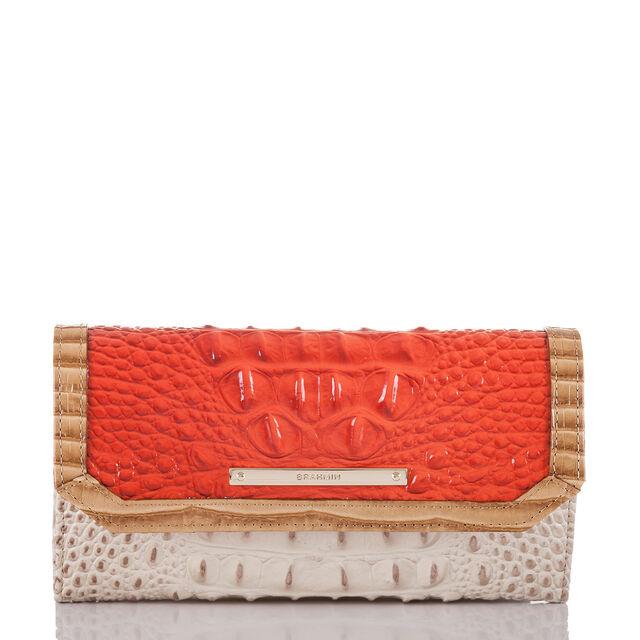 Soft Checkbook Wallet Amaryllis Cotinga, Amaryllis, hi-res
