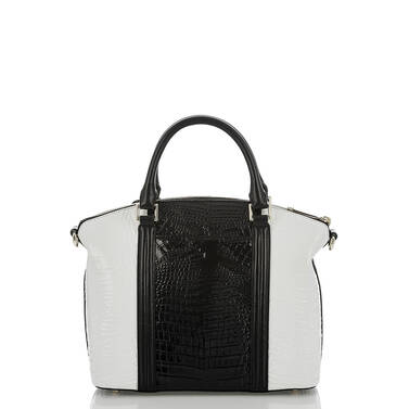 Duxbury Satchel Black Crane Back