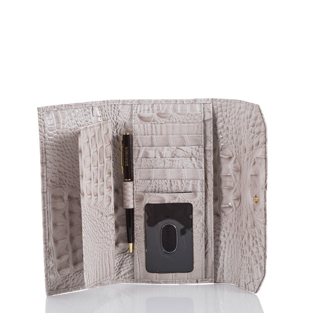 Soft Checkbook Wallet Pumice Melbourne