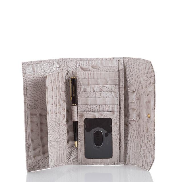 Soft Checkbook Wallet Pumice Melbourne, Pumice, hi-res