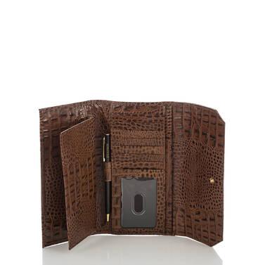 Soft Checkbook Wallet Brown Concerto Interior