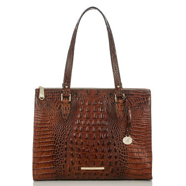 Anywhere Tote Pecan Melbourne Front