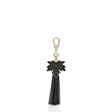 Maple Leaf Tassel Black Melbourne Front