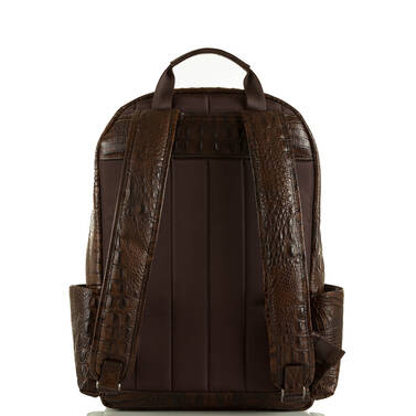 Marcus Backpack Cocoa Brown Vintage Melbourne Back
