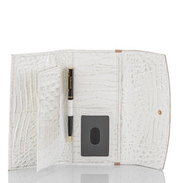 Modern Checkbook Wallet Shortbread Enchant Front Last Chance