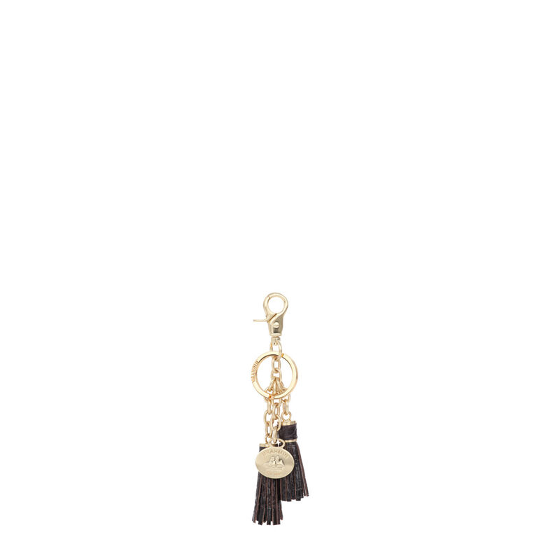 Tassel Key Ring Cocoa Melbourne