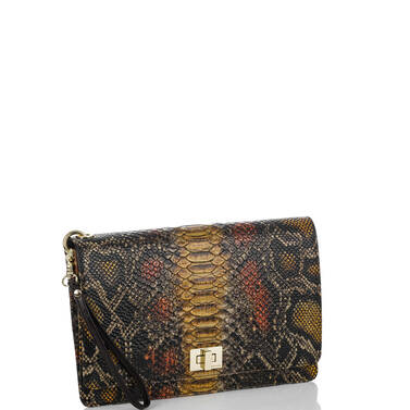 Lily Pouch Brown Tyndale Side