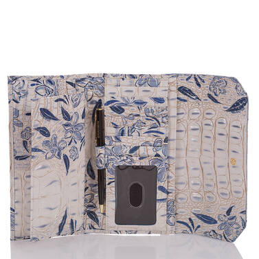 Soft Checkbook Wallet Indigo Palaminto Interior
