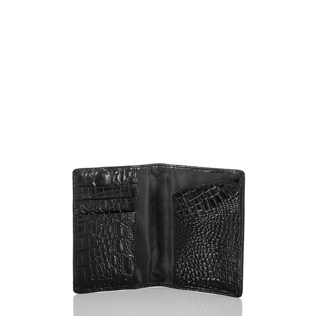 Passport Wallet Black Melbourne, Black, hi-res
