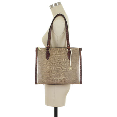 Anywhere Tote Brown Laelia Front