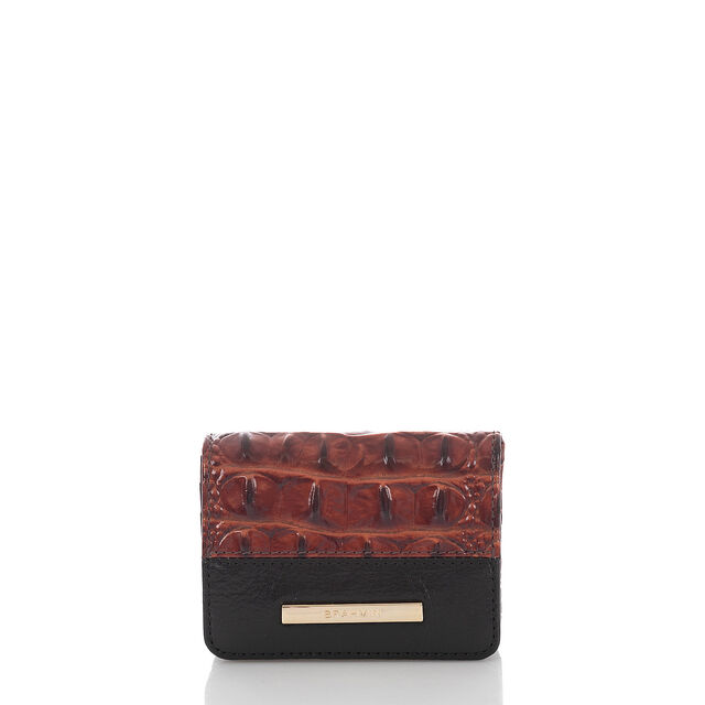Mini Key Wallet Pecan Fitzgerald, Pecan, hi-res