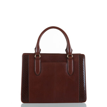 Small Camille Pecan Windsor Front