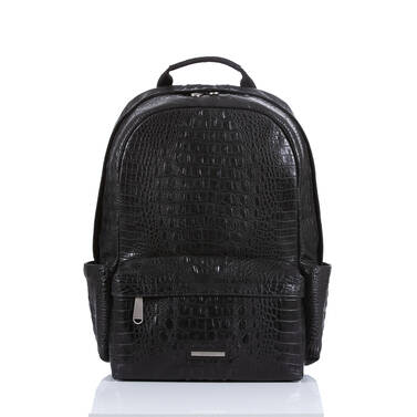 Lucas Backpack Black Canyon Front Brahmin Exclusive