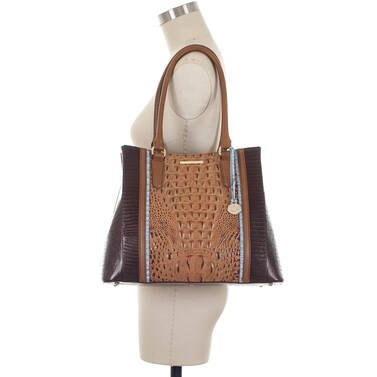 Joan Tote Toasted Almond Garrone On Mannequin